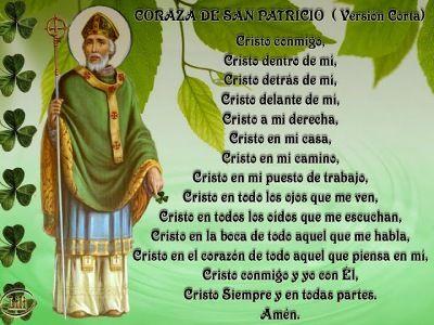 Oracion A San Patricio