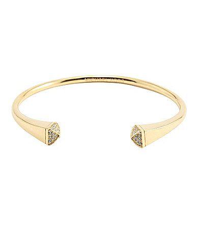 Michael Kors Pave Pyramid Reverse Cuff Bracelet #Dillards. Love mine. Husband brought it for Christmas