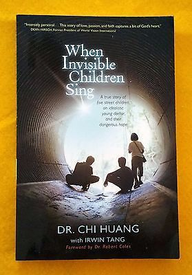 When Invisible Children Sing by Chi Cheng Huang FREE AU POST used paperback 2011