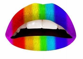 Magic lip regenboog