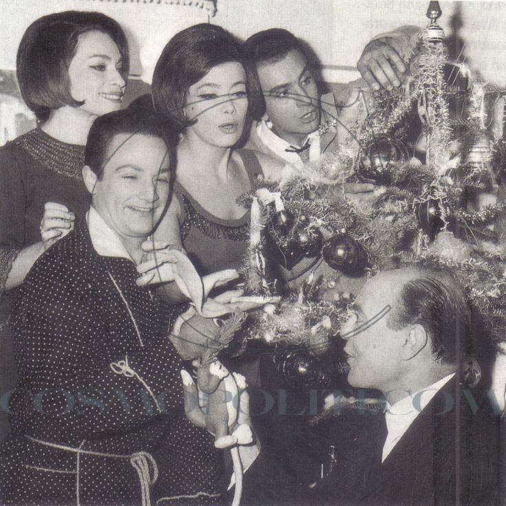 Λιλή Παπαγιάννη, Τζένη Καρέζη, Γιώργος Παντζας, Στέφανος Λιναιος και Δημήτρης Νικολαΐδης