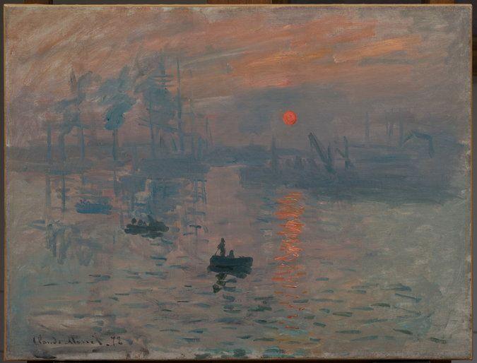 Paris Exhibition Traces Origins of Monet's 'Impression, Sunrise' - The New York Times