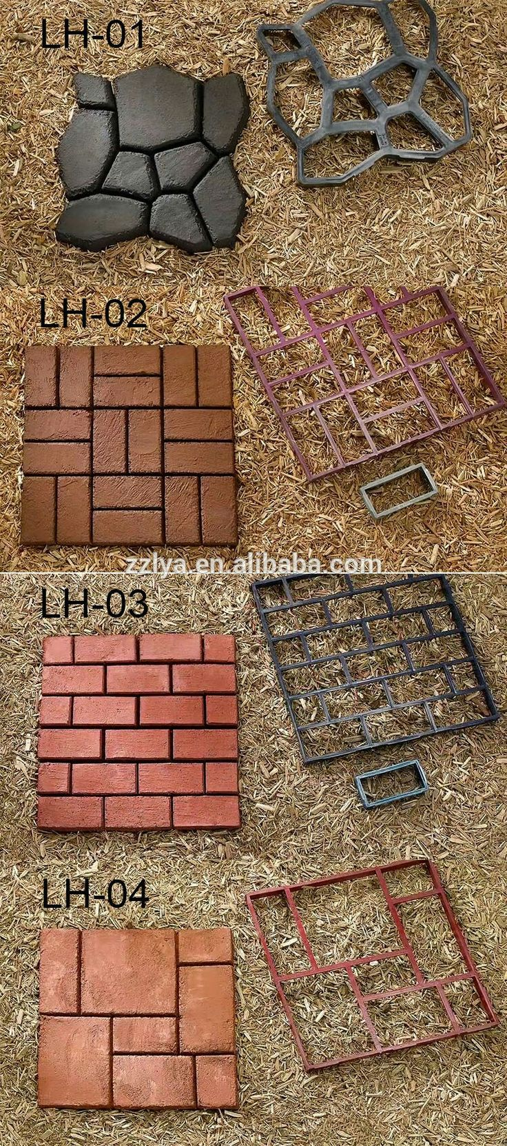 37 stenciled cinder block planter ideas and free 2017 from zola decor - Walkways Gardening Homes Projects Banks Stamping Plants