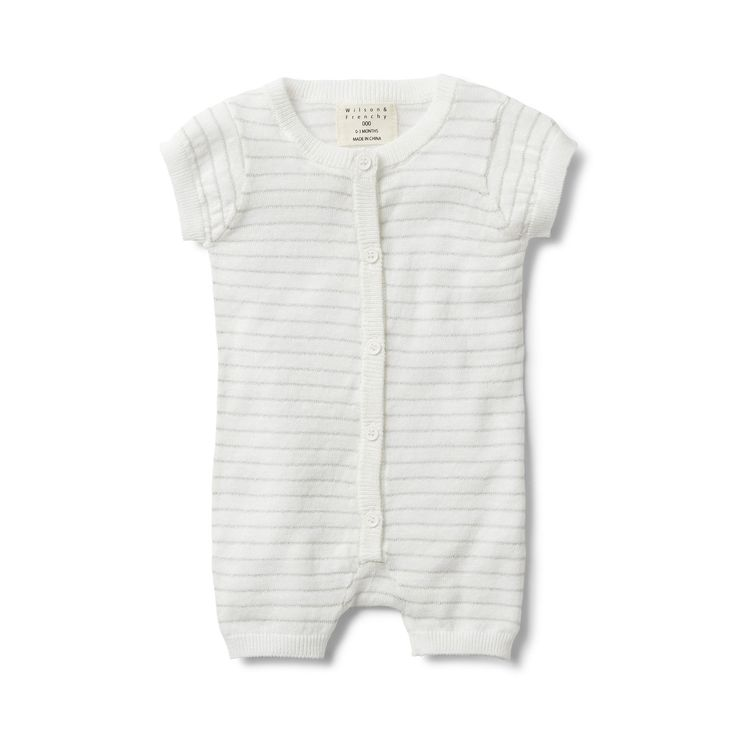 The perfect little Christmas outfit! Pair back with our silver stripe knitted jumper.