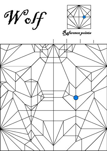183 best Origami Crease Patterns images on Pinterest