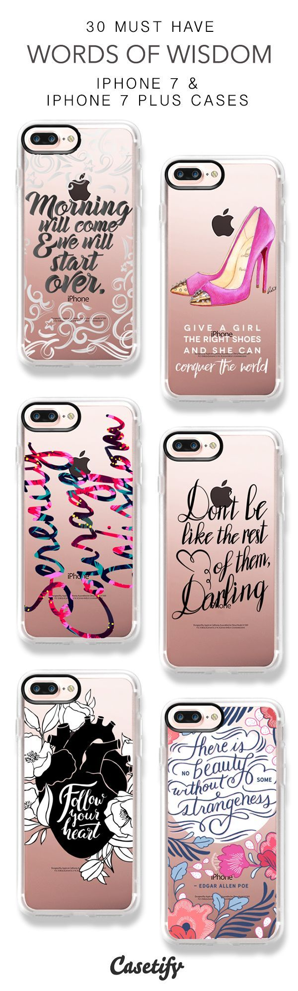 30 Must Have Words Of Wisdom Protective iPhone 7 Cases and iPhone 7 Plus Cases. More Quotes iPhone case here > https://www.casetify.com/collections/top_100_designs#/?vc=Bu1I9KrawJ (scheduled via http://www.tailwindapp.com?utm_source=pinterest&utm_medium=twpin&utm_content=post158229259&utm_campaign=scheduler_attribution) #iphone6scase,