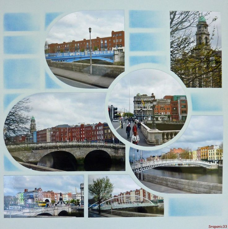 Dublin et ses ponts  Gabarit Paris-Istanbul Azza