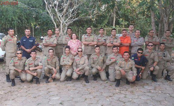 Bombeiros são capacitados para resgate de animais em Rio Branco
