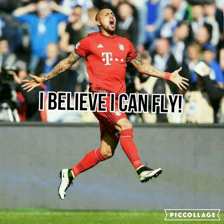 Vidal definitly can fly!!! :)