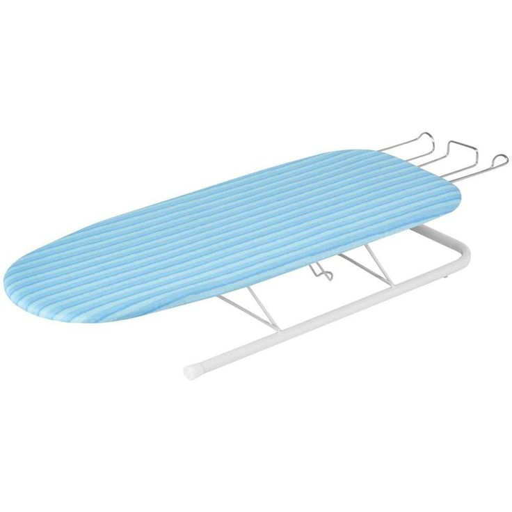 HONEY-CAN-DO BRD-01435 Tabletop Ironing Board with Retractable Iron Rest