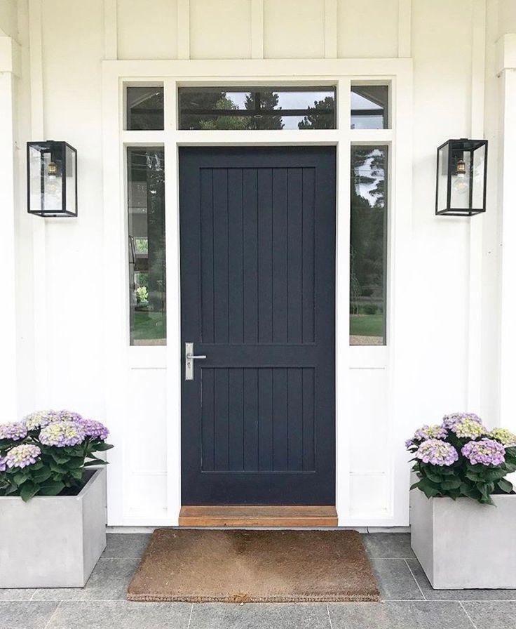 #77 : Charcoal Door For Garage Side Door.