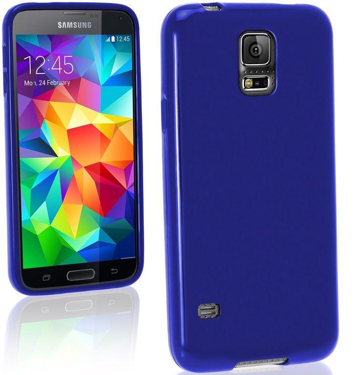 Matte TPU Gel Θήκη Σιλικόνης Μπλε (Samsung Galaxy S5 mini) - myThiki.gr - Θήκες Κινητών-Αξεσουάρ για Smartphones και Tablets - Χρώμα μπλε