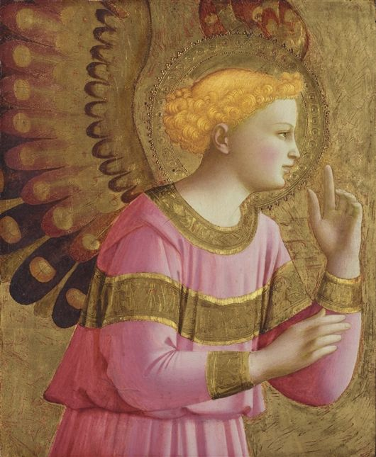 Annunciatory Angel by Fra Angelico