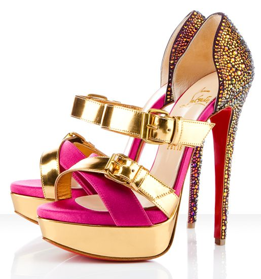 It would be perfect in blue this Christian Louboutin Sandals Ambertina  Bejeweled Wine Red Bottom Shoes