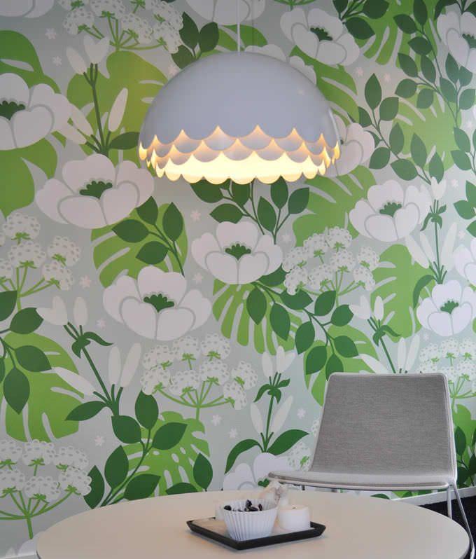 Pendant lamp / contemporary / acrylic / aluminium - BLOOM by Fredrik Mattson - ZERO