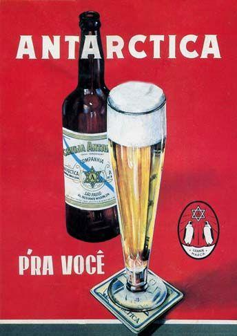 16015 - CERVEJA - ANTARCTICA - Prá você - (29x41).                                                                                                                                                     Mais