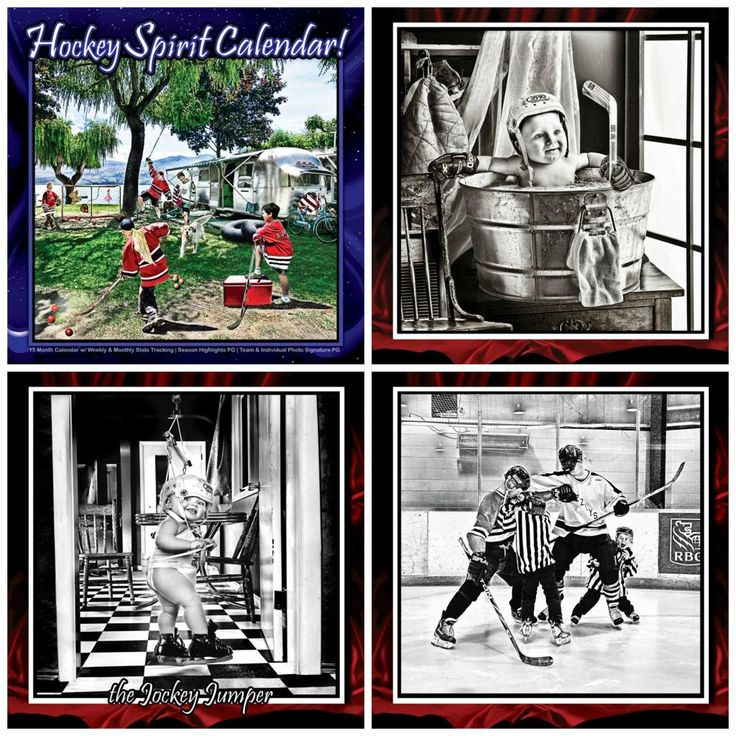 Hockey Spirit Fundraising Calendars | Did you know Canada?