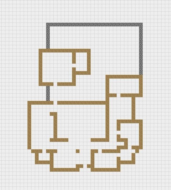 basic minecraft house with blueprints minecraft - Minecraft Home Designs