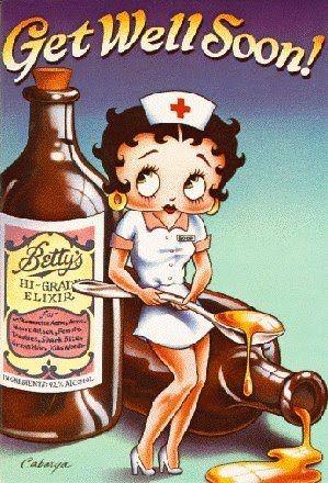 Betty Boop .....open wide!