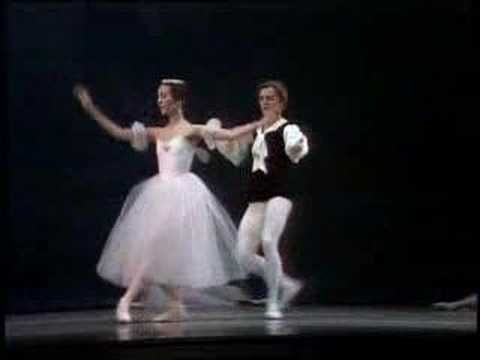 Mikhail Baryshnikov Marianna Tcherkassky Les Sylphides Waltz  Lighter than air...Glorious.