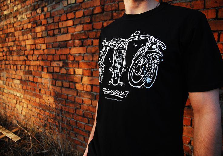 Scrambler t-shirt Motocultura7