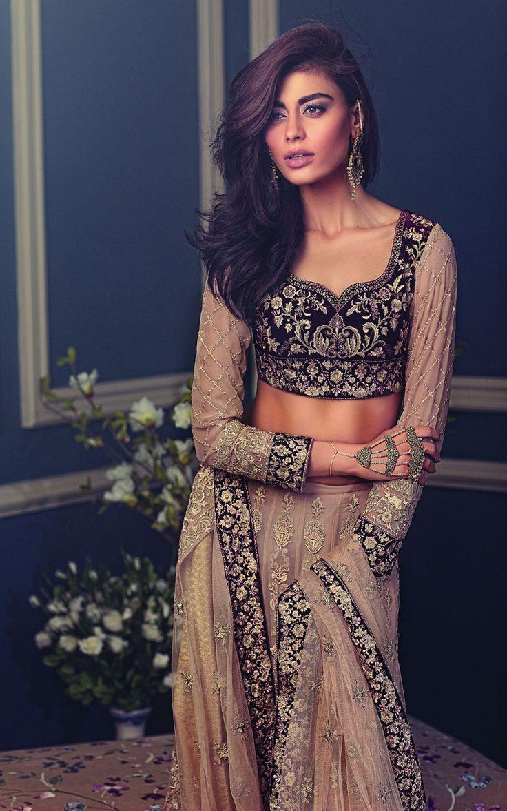 Threads and Motifs, Wedding Wear, S/S 2015 - High Fashion Pakistan