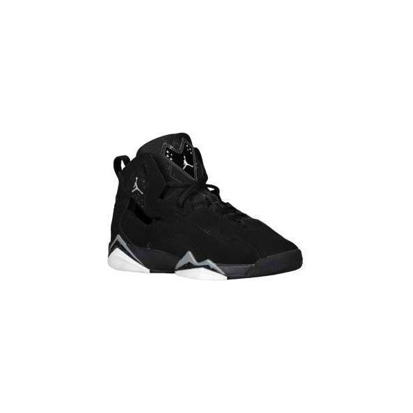 Jordan True Flight Boys' Grade School found on Polyvore featuring polyvore, shoes, jordans, sneakers and swag