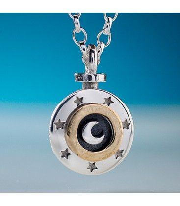 Alan Ardiff Sun Moon & Stars Sterling Silver Pendant