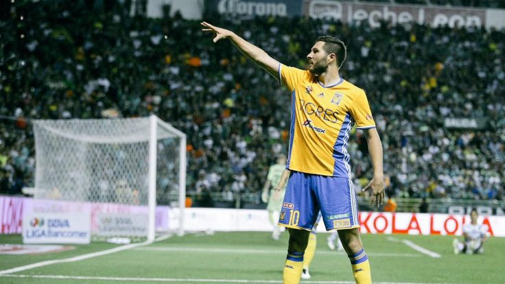 Tigers take a 1-0 lead into the second leg of the Liga MX semifinals against Leon. #AndrePierreGignac #Gignac #Tigers #LigaMX #semifinals #Leon #soccergoal #goal #soccergame