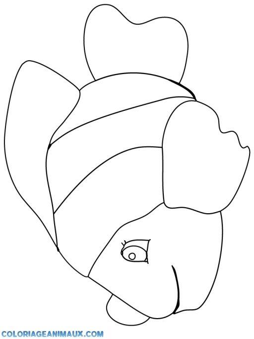 coloriage poisson némo pour enfants