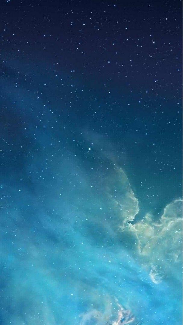 Blue Sky Iphone Stars Wallpaper 2021 Live Wallpaper Hd Ios 7 Wallpaper Wallpaper Iphone Ios7 Apple Wallpaper