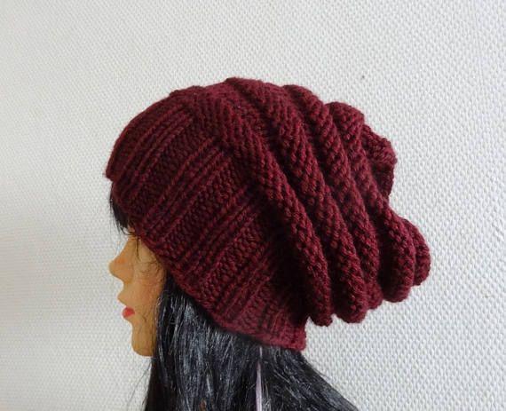 UNISEX Sacking Winter Hat  Autumn Accessories  Slouchy