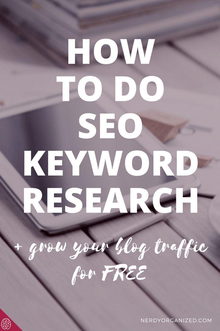 Blog seo, seo keyword research, blogging tips, online entrepreneur tips, online business tips  http://bloggerkhan.com