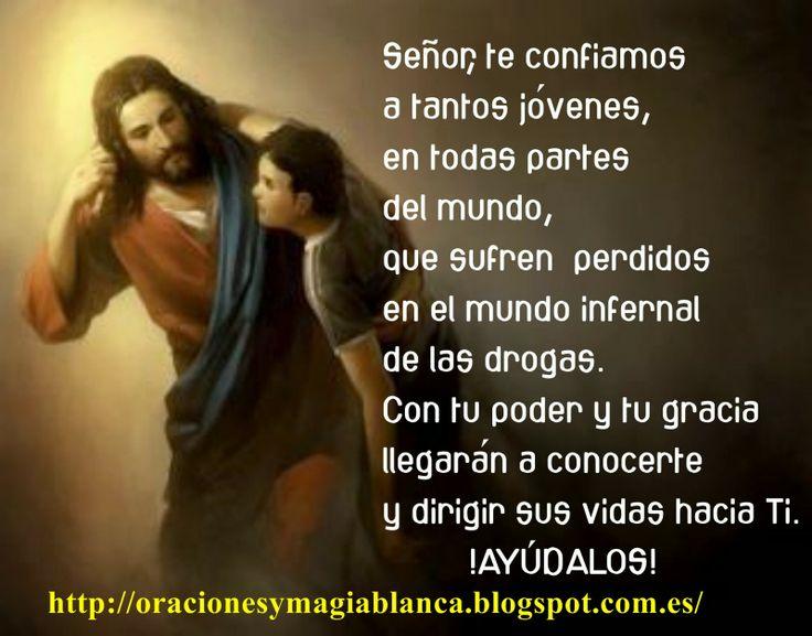 Oracion y fotografia POR LOS JOVENES Y CONTRA LAS DROGAS