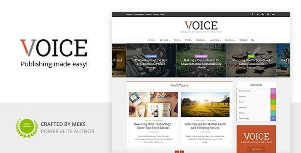 Download Free Voice V2 8 4 Clean News Magazine Theme Nulled