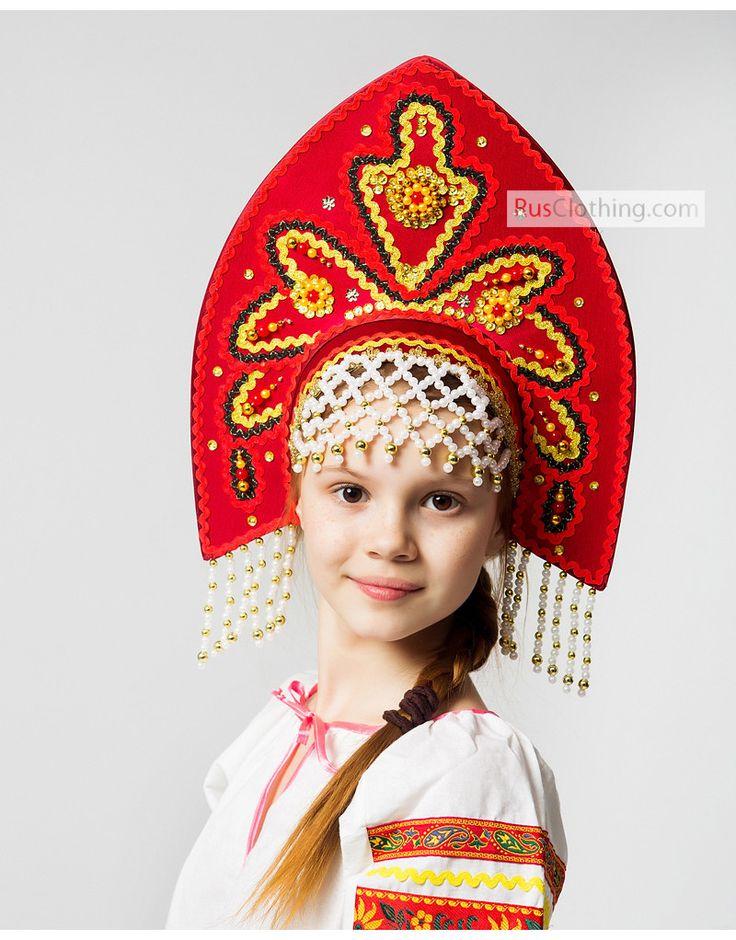 Russian Kokoshnik Alenka