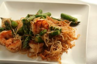 Shrimp and Asparagus Stir Fry with Miracle Noodles | HCG Diet Recipes Made Simple
