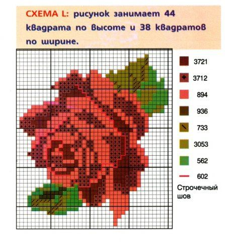 Gallery.ru / Фото #1 - салфетка с розами - homjchok