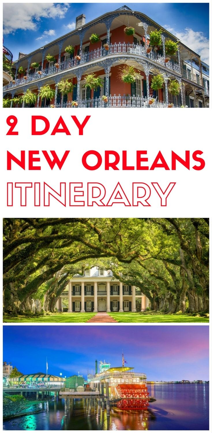 Planning a trip to New Orleans Louisiana? Here is a 2 day itinerary to New Orlea…