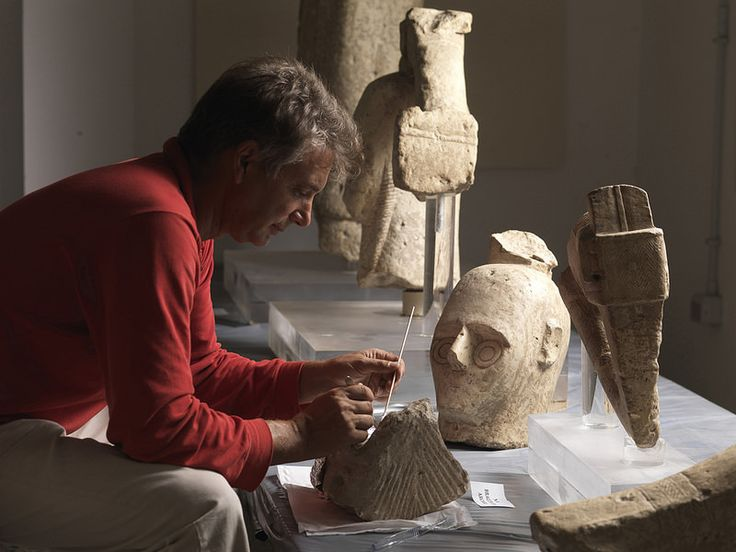 Nuragic Sculptures of Monte Prama in Sardinia, ITALY