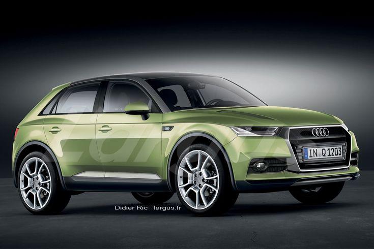 En relief, la calandre single frame apporte charisme et modernité. Les épaules musclées dynamisent l'ensemble. L'Audi Q1 ne manquera pas de ...