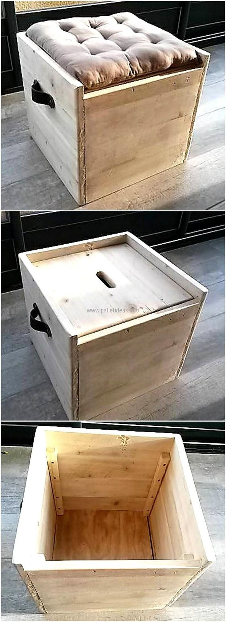 Now we are presenting an idea which is great because it serves 2 purposes, this is a seat as well as a chest to store the items. No one can think of the space it contains without viewing it. It is a great storage idea and it is amazing in look.