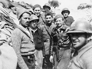Spain - 1937. - GC - Portraits of 14th and 24th Battalion Volunteers - republicans
