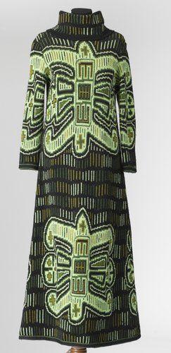 Katja of Sweden 100% Wool Pattern Molas 60's
