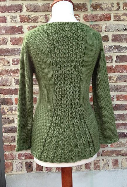 """Ravelry: Marian Cardigan pattern by Taiga Hilliard Designs by arline [ """"Ravelry: Marian Cardigan pattern by Taiga Hilliard Designs - Pretty!"""", """"Marian is a classic cardigan with a feminine flared back."""", """"The cardigan: back detail. This knitting shapes the back and also gives some…"""", """"Looks similar to the one I created - weird to find it somewhere . great minds think alike?"""" ] # # #Cardigan #Pattern, # #Knitting #Projects, # #Knitting #Ideas, # #Knitting #Patterns,..."""