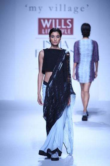 Rimzim Dadu at Wills Lifestyle India Fashion Week A/W 2014