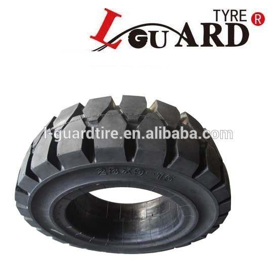 Excellent brand l-guard tyres pneumatic forklift tire pressure 28x9-15,llantas para montacargas