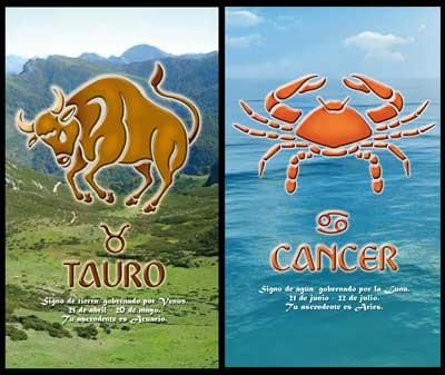 Cancer_Taurus:-Taurus and Cancer Compatibility both can make fulfilling combination as they both have calm, cautious and dedicated nature. Taurus people need somebody to hold them close and cancer people will always be there to take care of them...