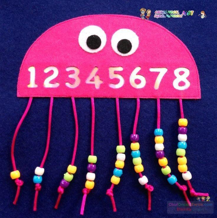 okul öncesınde sayılar (25)