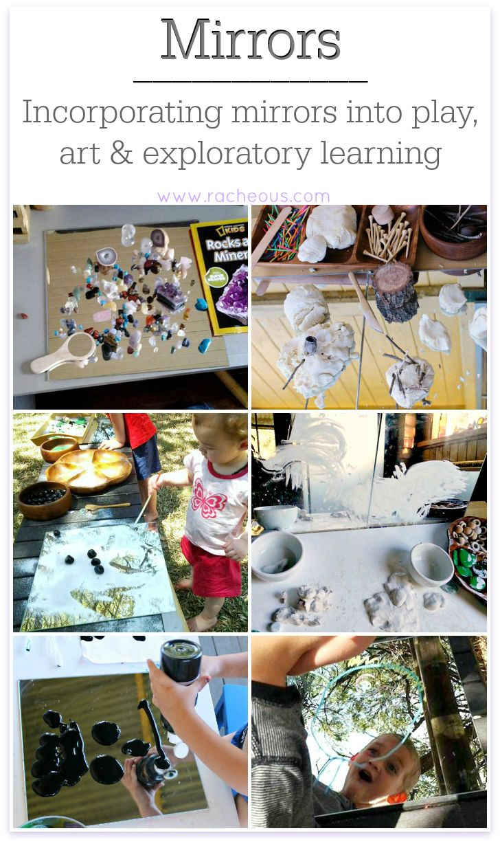 Incorporating Mirrors | using mirrors in play, learning and spaces for children.